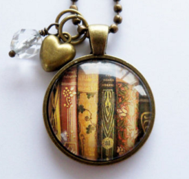 book-necklace