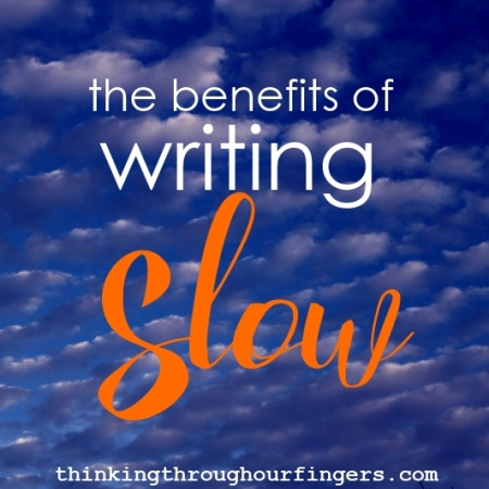 slow-writing