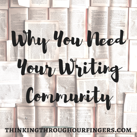 Why You Need Your Writing Community