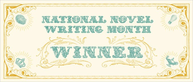 NaNoWriMo-Winner